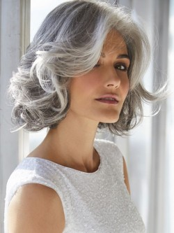 Natural Look Grey Wigs Silver Wigs Grey Wigs For Women And Men