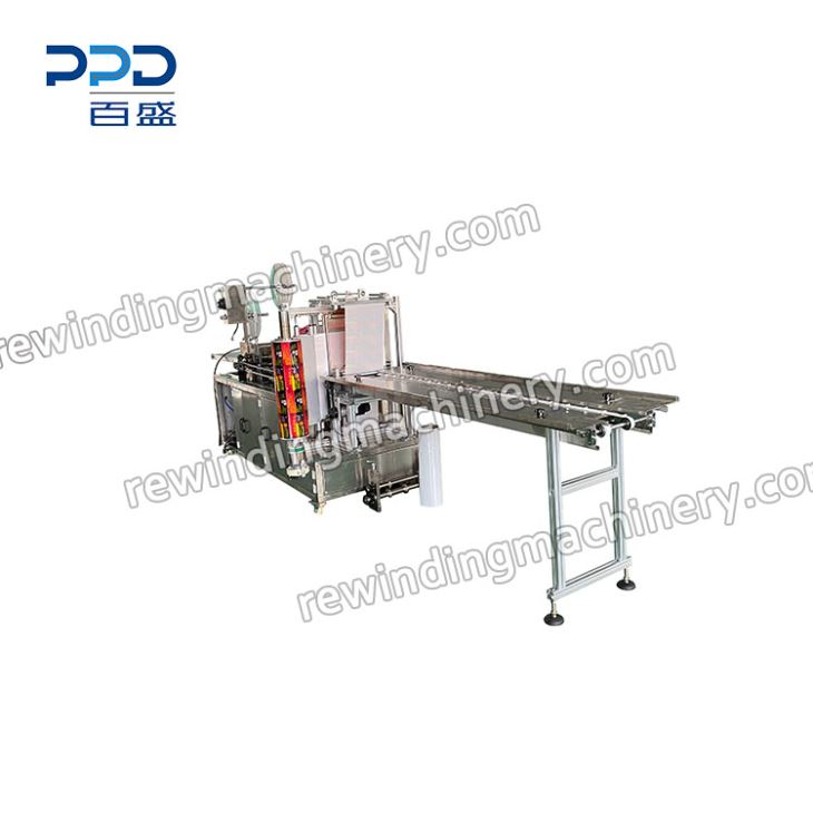 China Four Side Face Mask Sealing Packaging Machine For
