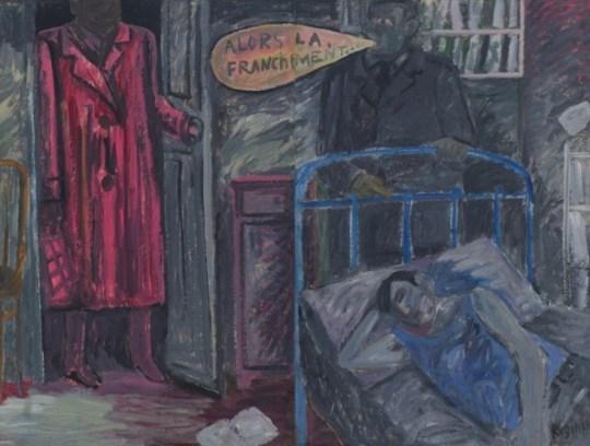 М. Рогинский Диптих ALORS LÀ, FRANCHEMENT 1985