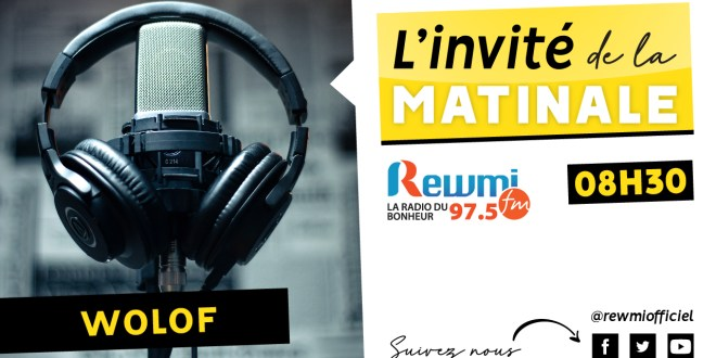 Invite De La Matinale Alioune Soumaré
