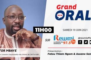 Grand Oral Avec Zator Mbaye