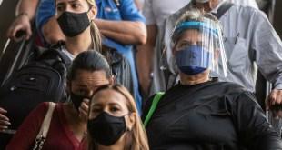 Covid-19 :Nouvelles infections dans les Amériques
