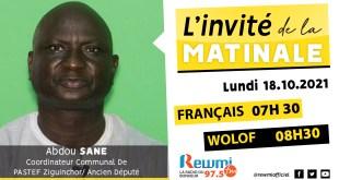 Invite De La Matinale Abdou Sané PASTEF Ziguinchor