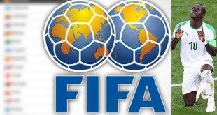 Classement FIFA: Le Sénégal