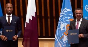 Didier Drogba nommé Ambassadeur de l'OMS pour le sport et la santé