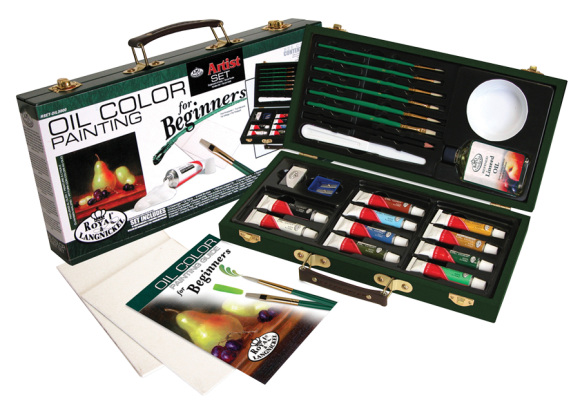 Royal & Langnickel Oil Color Painting for Beginners Set ...