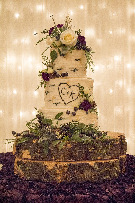 Aspen Tree Buttercream Wedding Cake Rexburg Cakes