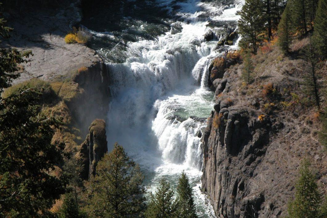 Lower Mesa Falls  Ashton ID  Targee National Forrest