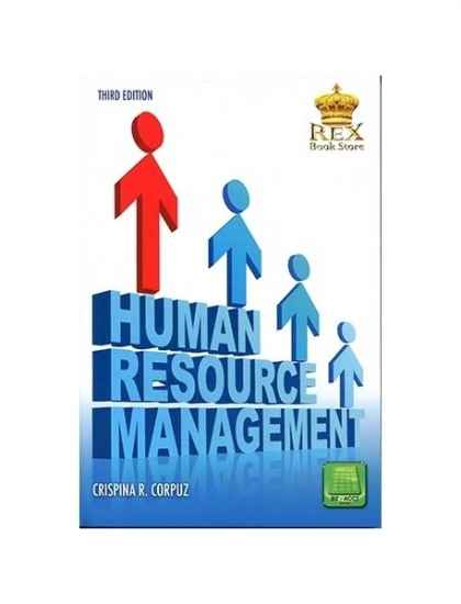 Human Resource Management by C. Corpuz   College book. Human Resource Management   Rex Book Store