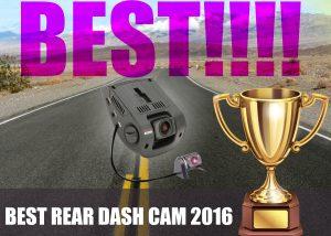 best rear dash cam 2016