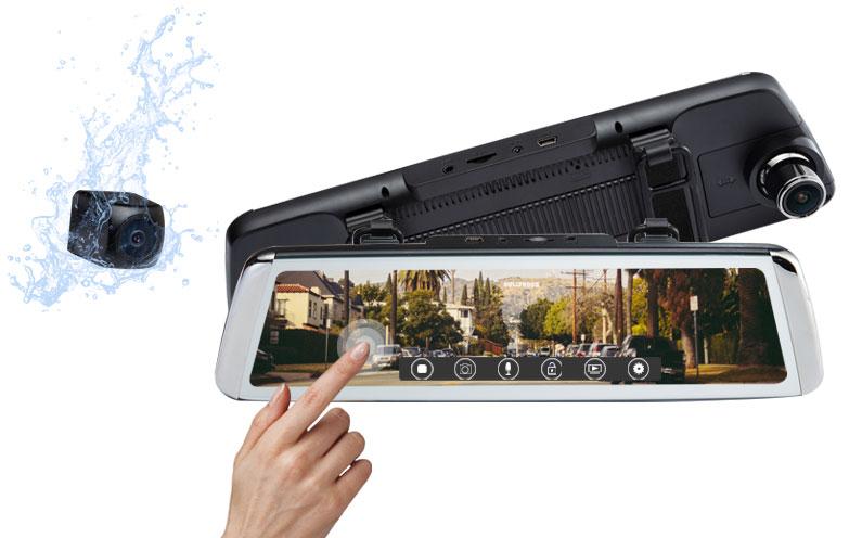 Rexing M1 Mirror Dash Cam