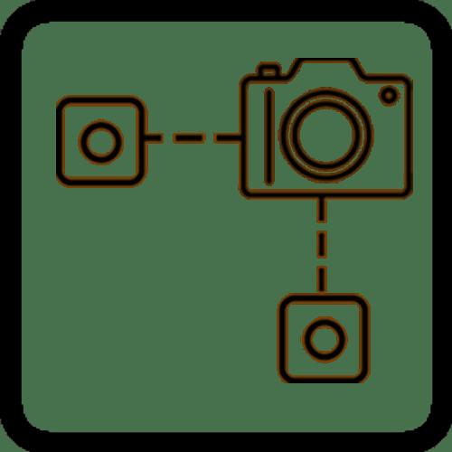 three channel icon