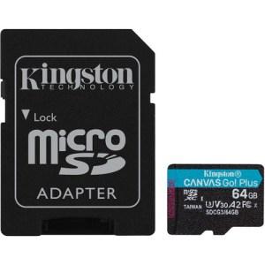 Kingston Canvas Go plus 64g Micro SD