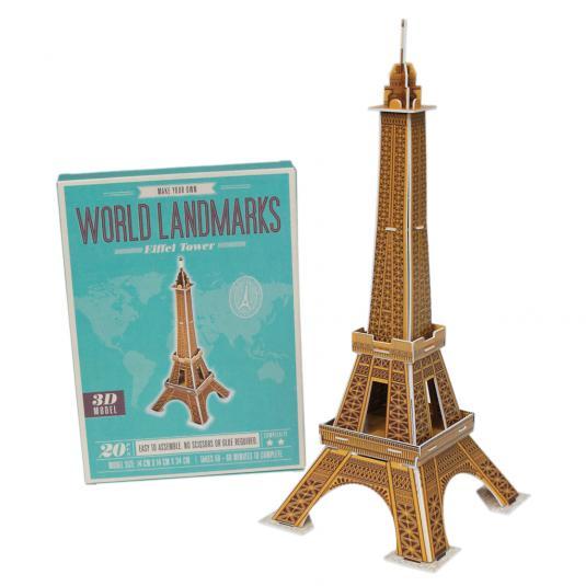 Make Landmark Eiffel Tower Craft Kit Rex London