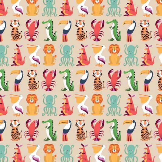 colourful creatures wrap 5