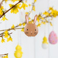 Easter Bow Tie Bunny Decoration | Rex London (dotcomgiftshop)
