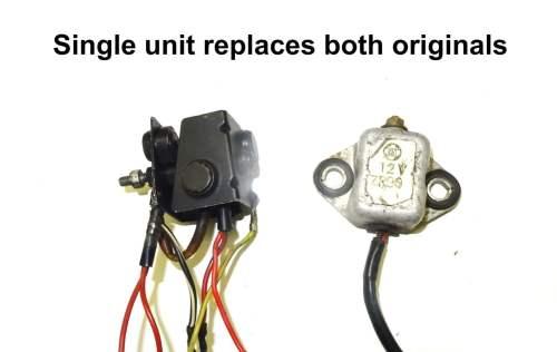 small resolution of suzuki t500 replacement regulator