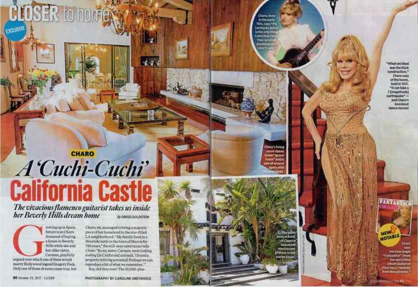Charo Closer Mag spread p 1