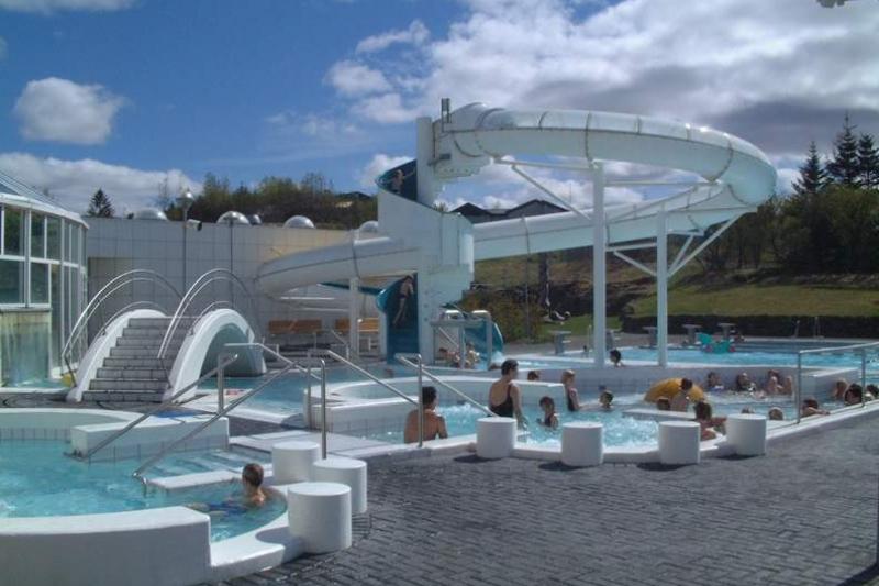 Reykjavik Swimming Pool Iceland