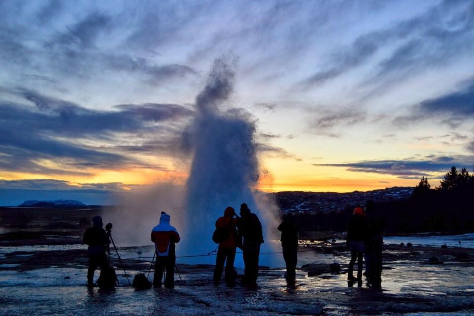 Geysir Iceland Golden Circle Geyser
