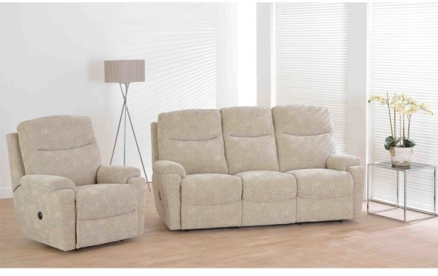 living room chair with good lumbar support french ideas furnico greenwich 3 seater static sofa - recliners ...