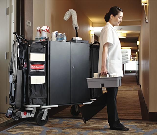 Housekeeping  Linen carts  RezaHygiene  Your Partner in