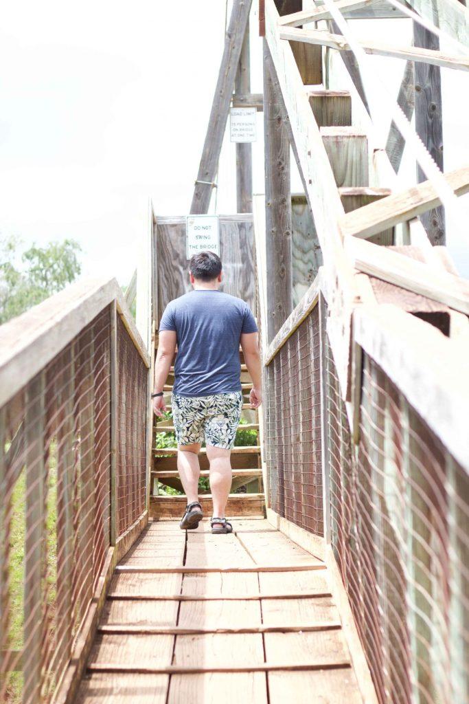 Hanapepe Swining Bridge