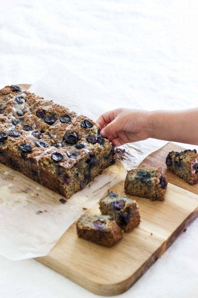 Blueberry Bliss Flax Zucchini Bread