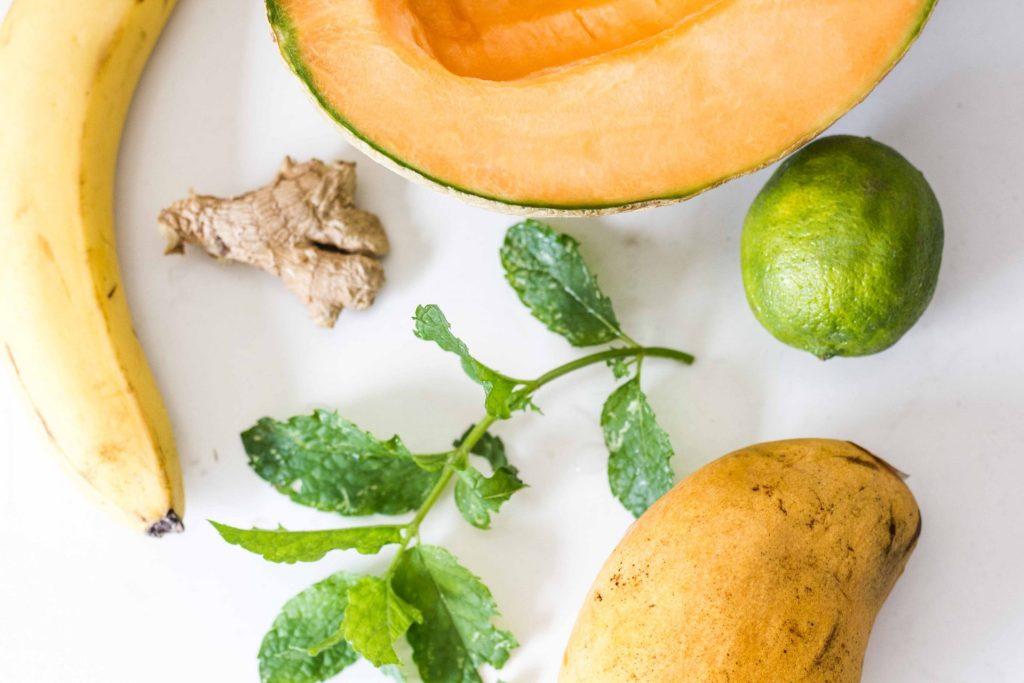 Melon Mint Mango Sorbet