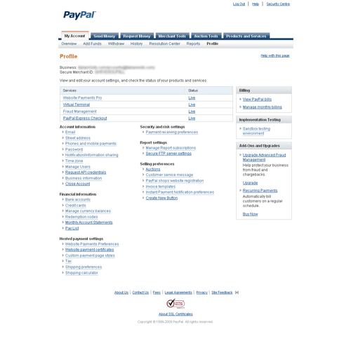 paypal-profile