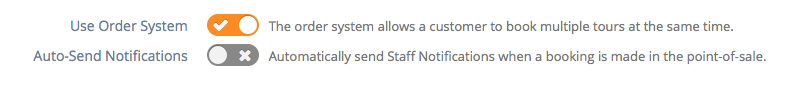 Send staff notifications automatically
