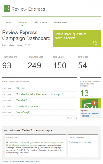Manage your reviews more effectively with TripAdvisor business tools.