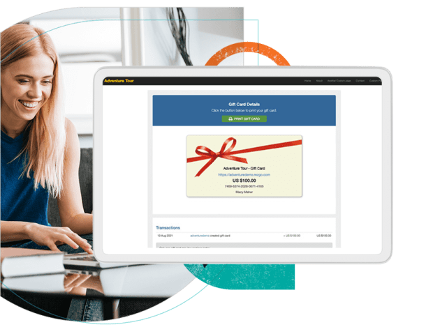 Feature Gift Card Booking System