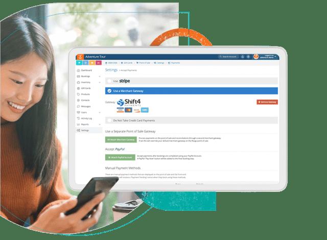Screen Global Payments Gateways