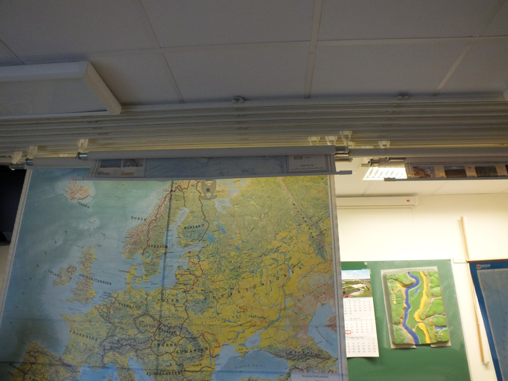 82 In the geography room