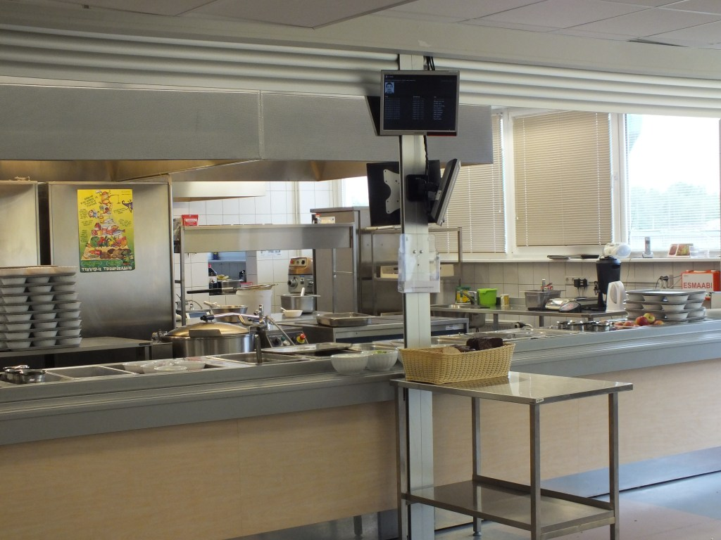84 School kitchen