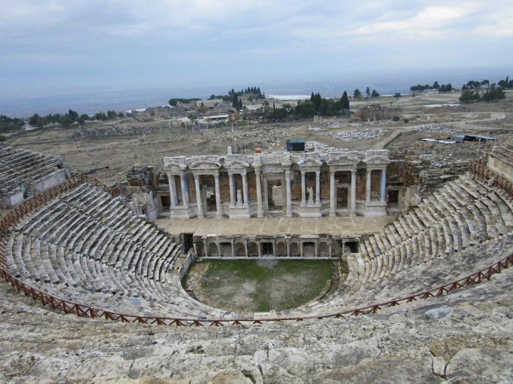 64. Roman amphitheatre at Hierapolis