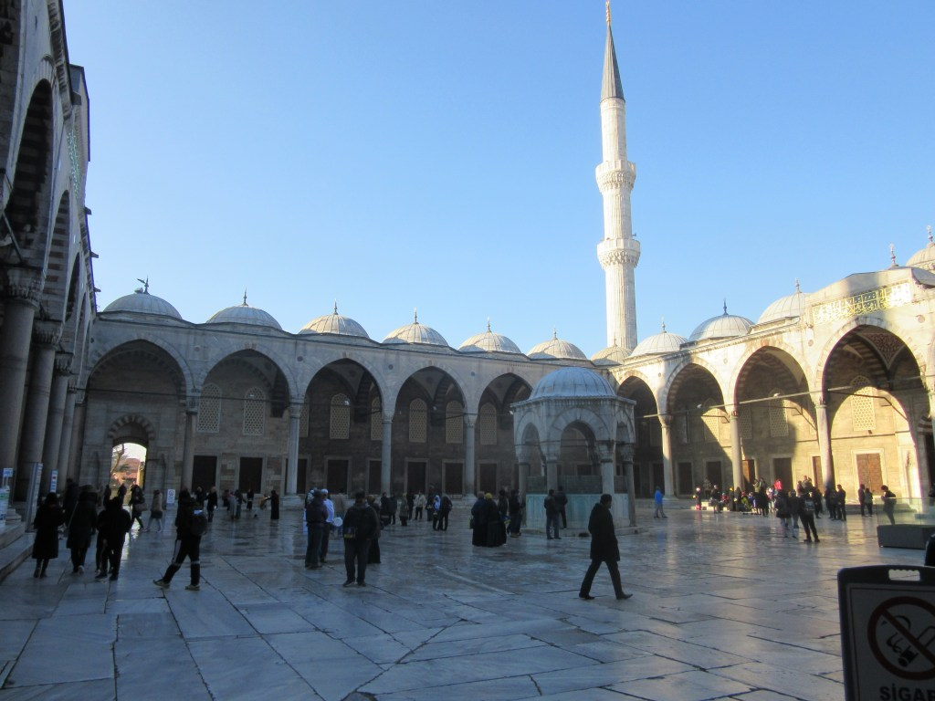 9. Inside the Sultan Ahmed Mosque
