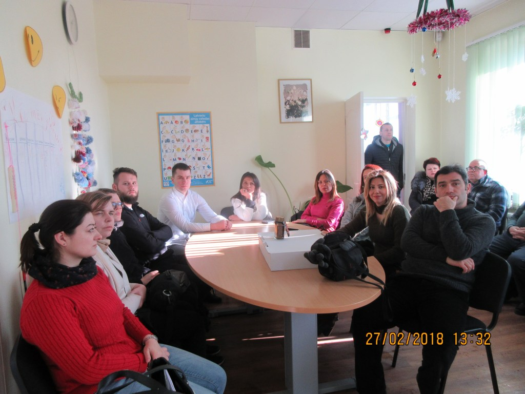 58. Visiting the Rezekne department of the Latvian Association of the Deaf