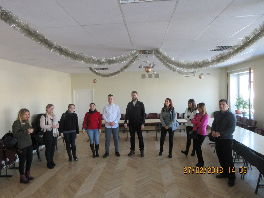 64. Visiting the Rezekne department of the Latvian Association of the Deaf
