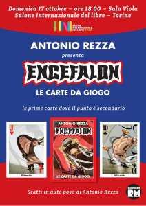 ENCEFALON, LE CARTE DA GIOGO AL SALONE INTERNAZIONALE DEL LIBRO DI TORINO