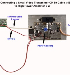 wireless video transmitter and receiver circuit wiring diagram mini wireless video transmitter circuit diagrams [ 1188 x 671 Pixel ]