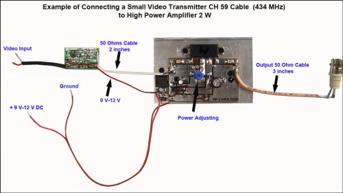 small resolution of wireless video transmitter and receiver circuit wiring diagram mini wireless video transmitter circuit diagrams