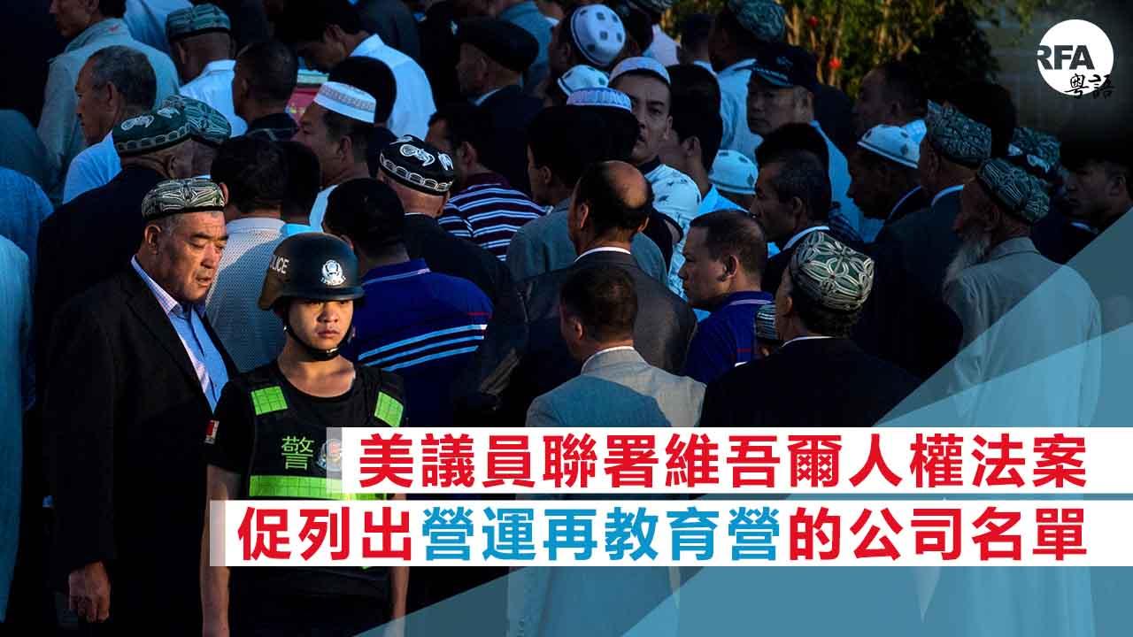《維吾爾人權法案》:網羅建造,營運「再教育基地」中國公司名單