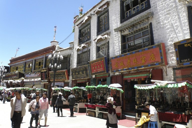 chinese living room modern black and white lhasa faces 'disneyfication' specter with hotel plan
