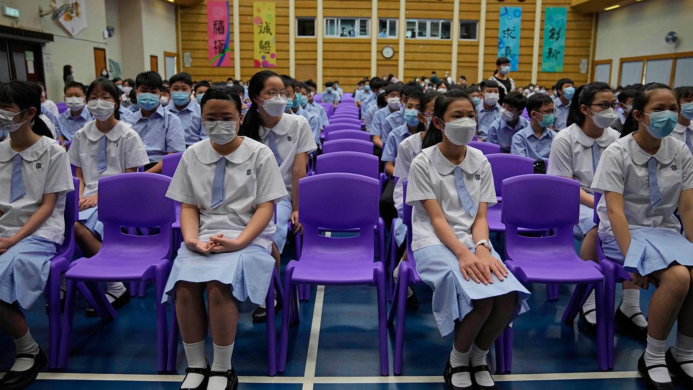 港版国安法下教师和学生流失  感到不安提早移民