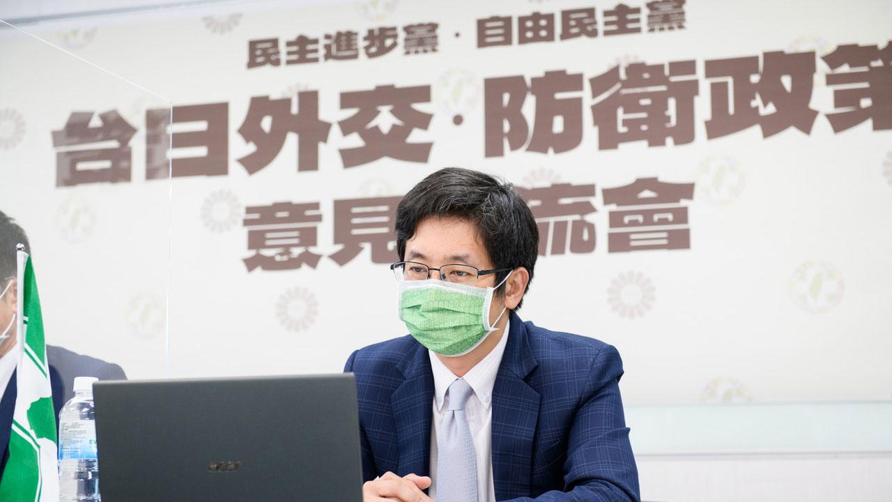 台日执政党首次2+2安全会谈  聚焦中国威胁