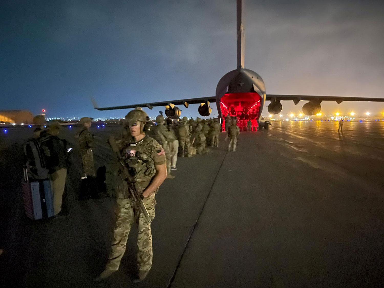 拜登在撤军阿富汗后首次演说