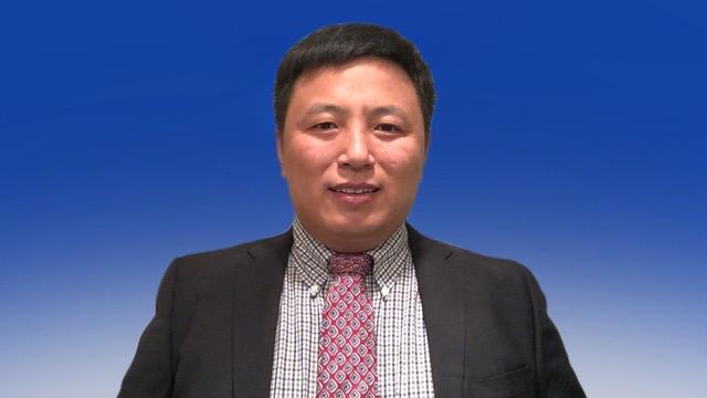 """中国维权律师陈建刚指""""中国人权研究会""""是共产党组织。(照片:陈建刚提供)"""