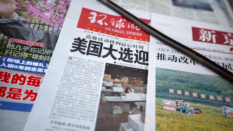 """中國官方提醒媒體""""三不準"""" 防止輿論煽動反美情緒 — 普通話主頁"""